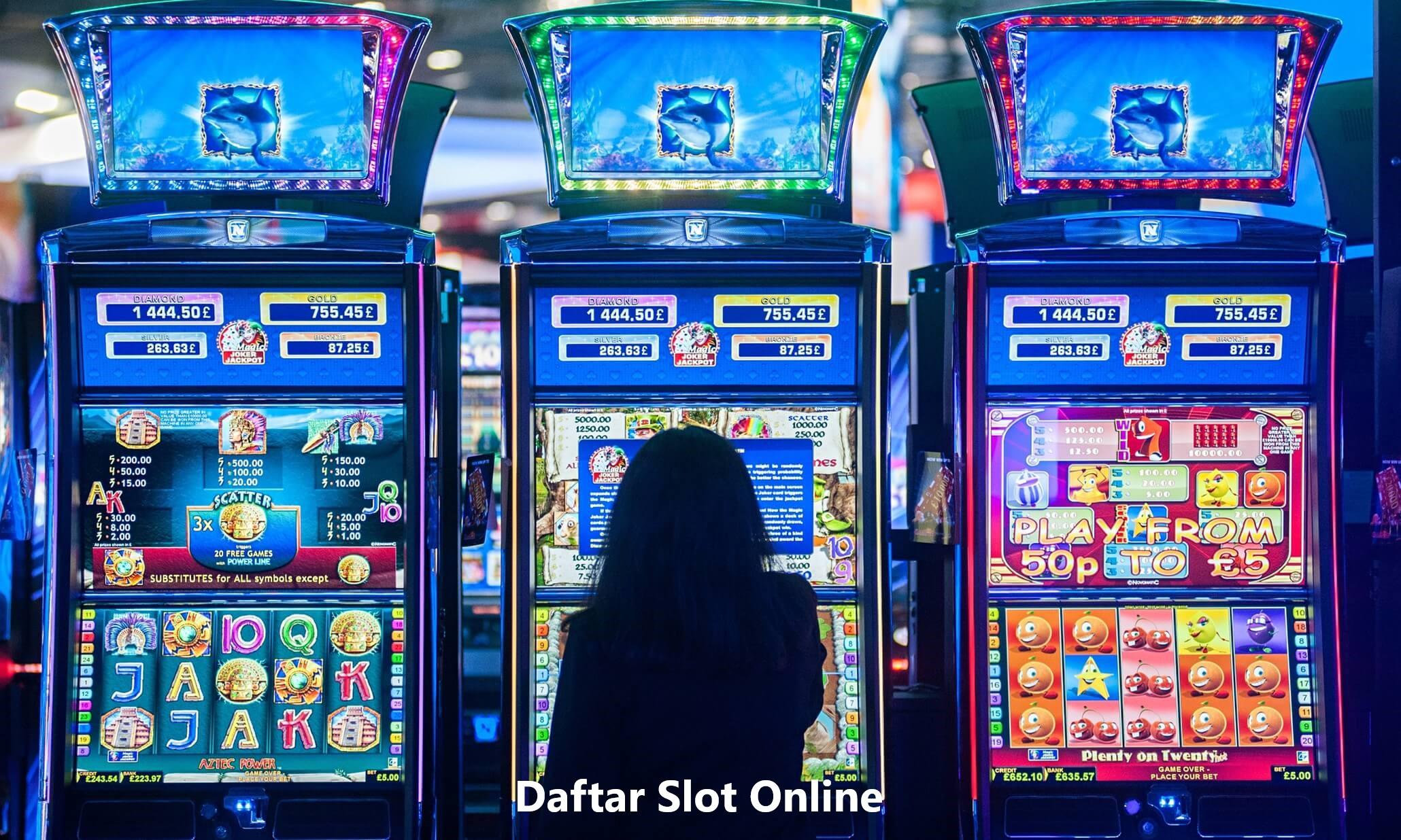 Daftar Judi Slot Online Resmi