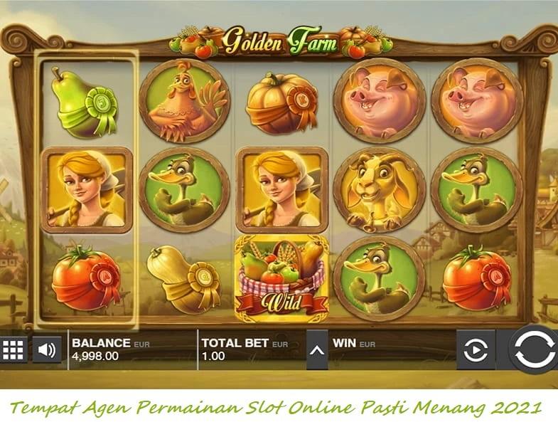 Tempat Agen Permainan Slot Online Pasti Menang 2021